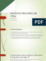 Reforma Tributaria de 1936 [Autoguardado]