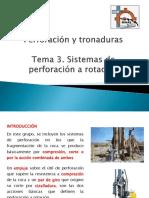 Sistemas de Perforación a Rotación