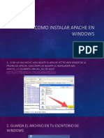 Como Instalar Apache en Windows