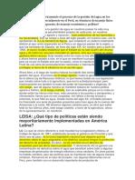 Cómo Ha Sido Históricamente El Proceso de La Gestión Del Agua en Los Países Andinos