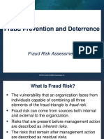 18 Fraud Risk Assessment