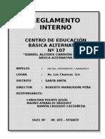 Reglamento Interno 2013
