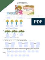 GUIA de MATEMATICA Tablas y Multiplicaciones