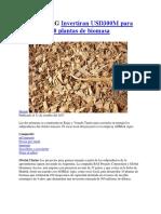 20171031 ARG Invertiran USD300M Para Desarrollar 10 Plantas de Biomasa