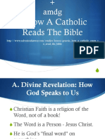 1. How a Catholic Reads the Bible