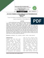 002 Kimia Dan Pendidikan Karakter Aplikasi Pembelajaran Kimia Dalam Pengembangan Karakter Effendy