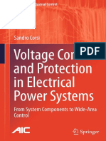 (Advances in Industrial Control) Sandro Corsi (Auth.)-Voltage Control and Protection in Electrical Power Systems_ From System Components to Wide-Area Control-Springer-Verlag London (2015)