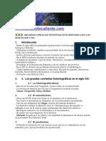 Temario Oposiciones Geografia e Historia-las Investigación Historica en Los Siglos Xix y Xx