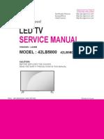 LG TV Service manual 42lb5800.pdf