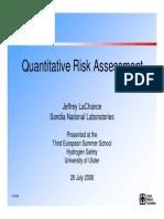 260978947 Quantitative Risk Assessment