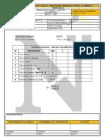 2.1. Densidad Natural - Metodo Volumetrico protocolo