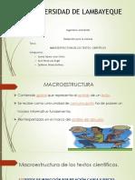 Macroestructura de Textos Cientificos