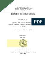 Geología - Cuadrangulo de Puémape (16d), Chocope (16e), Otuzco (16f), Trujillo (17e),Salaverry (17f) y Santa (18f),1967