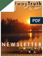 StraitwayNewsletter  01 (2012)