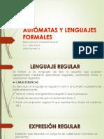 Autómatas y Lenguajes Formales