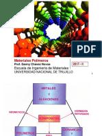 Clase 1. Introducción General. polimeros