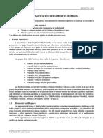 Apuntes 1 - Unidad 2 (Clasificación de elementos químicos)