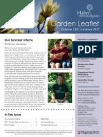 2017 summer hhg newsletter