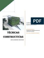 TÉCNICAS CONSTRUCTIVAS-