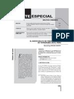 Delito de Financiamiento de Terrorismo en El Peru