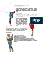 Ficha Superhéroe - Flash