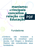 Desafios a Educacao Humanista