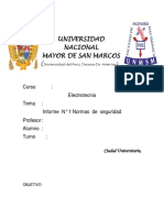 Informe Final #1 Electrotecnia