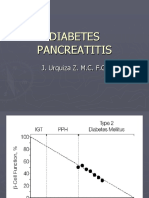 Diabetes y Pancreatitis