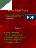 2007AS3141_short_topics.ppt