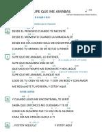 13. Supe Que Me Amabas - Marcela Gándara (Sol)