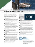MBA Code of Ethics