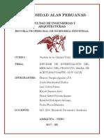 Informe Deinvestigacion Del Mercado Del Producto Salsa de Aceituna Picante Hot Olive