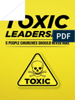 eBook Toxic Leadership 5 People Churches Should Never Hire PUBLISH 1