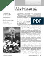 À la mémoire du Dr  Jean Couture, un grand chirurgien au Canada et en Chine (1924–2016)