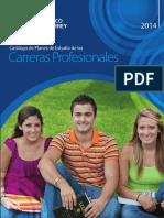 Especificacion Carreras Pensum _catalogo2014esp