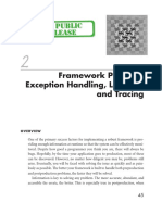 Framework Patterns- Exception Handling, Logging, And Tracing