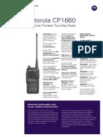 Jual HT Motorola CP1660 ( VHF & UHF )