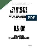 3. Ley de Conciliacion y Reglamento