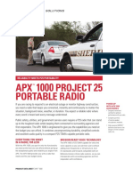 Jual HT Motorola APX 1000 Trunking