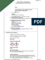 FICHA de SEGURIDAD 9. Acido Clorhidrico