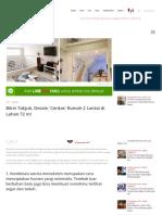 Bikin Takjub, Desain 'Cerdas' Rumah 2 Lantai Di Lahan 72 m! _ IDN Times