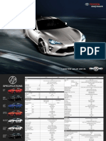 Toyota 86 2016 Brochure