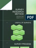 Metode Survey