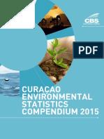 Publication Curaçao Environmental Statistics Compendium 2015