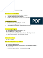 Sample 2 Page Summary Report - Key Noted on OLT Usability