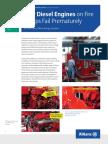 Fire Water Diesel Engine failures