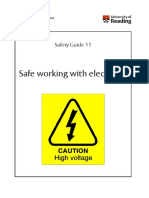 SG11 Working Safely With Electricity Jun 09