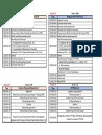 Susunan Acara SemNas Dan Konggres & PIT PAAI 2