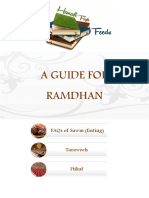 A Guide for Ramadhan Hanafi