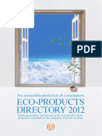 Eco-products Directory 2012 Web